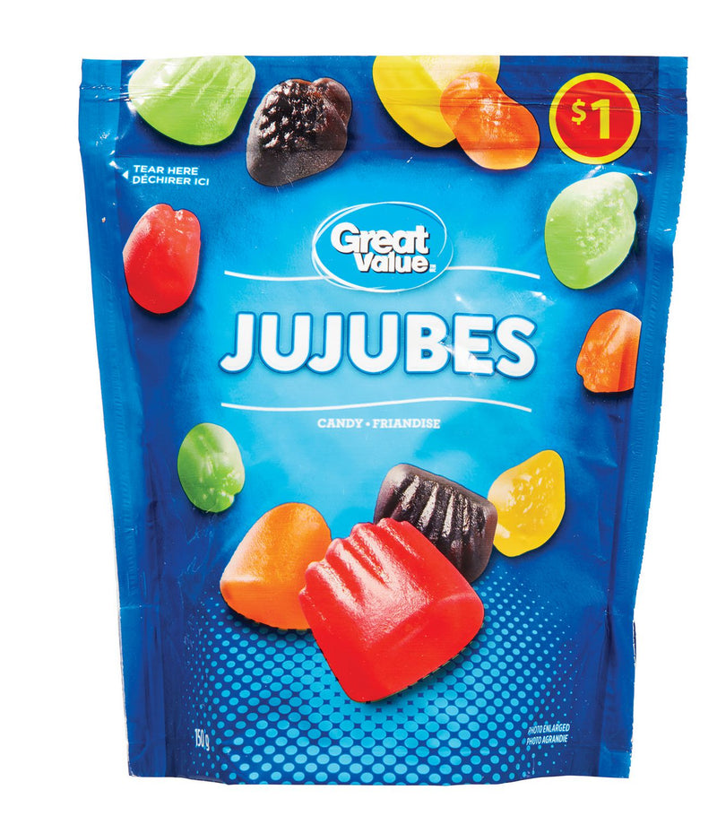 Great Value JuJubes Candy