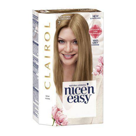 Clairol - Nice'n Easy Permanent Hair Color Dark Blonde - 7