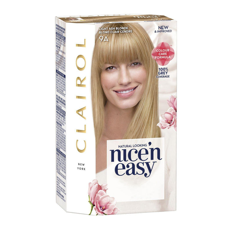 Clairol - Nice'n Easy Permanent Hair Color Medium  Light Ash Blonde - 9A
