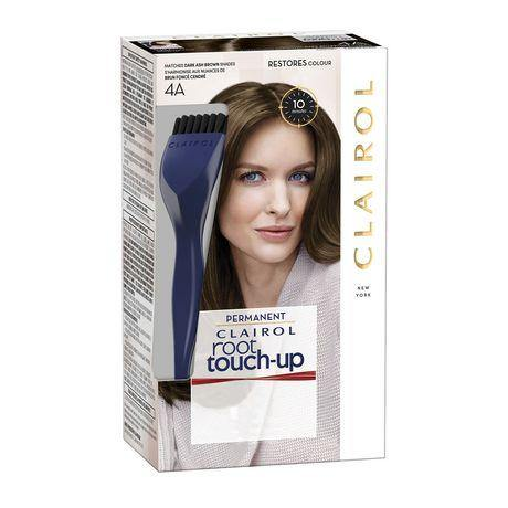 Clairol Root Touch-Up Permanent Hair Color Dark Ash Brown - 4A