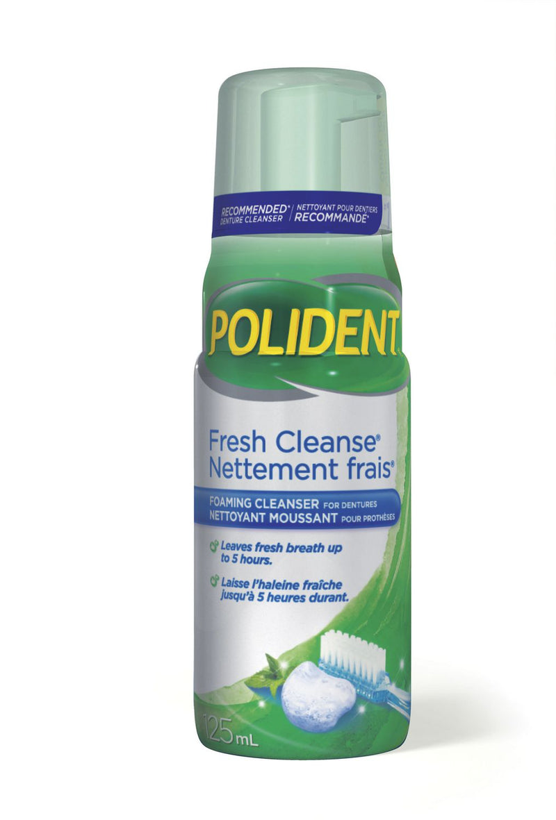 Polident Fresh Cleanse Foaming Daily Denture Cleanser
