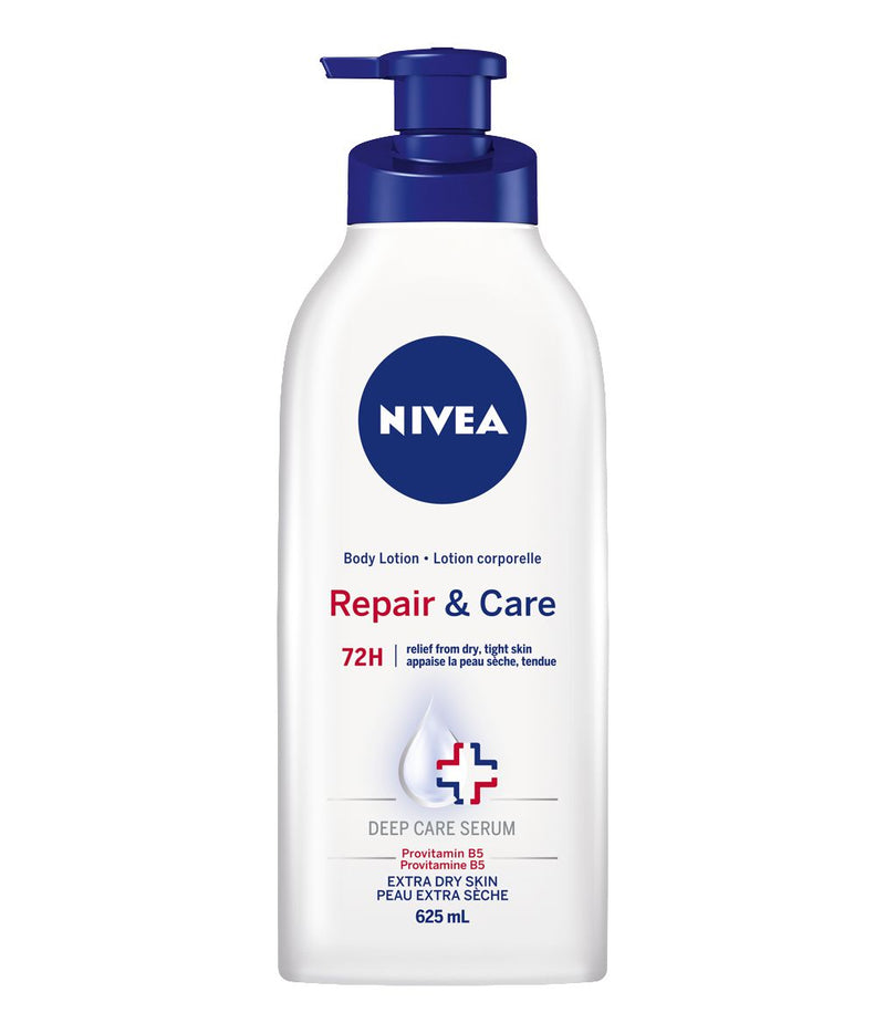 NIVEA Repair & Care 72H Body Lotion for Extra Dry Skin