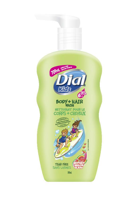 Dial Kids ® Watery Melon Hair And Body Wash 709mL