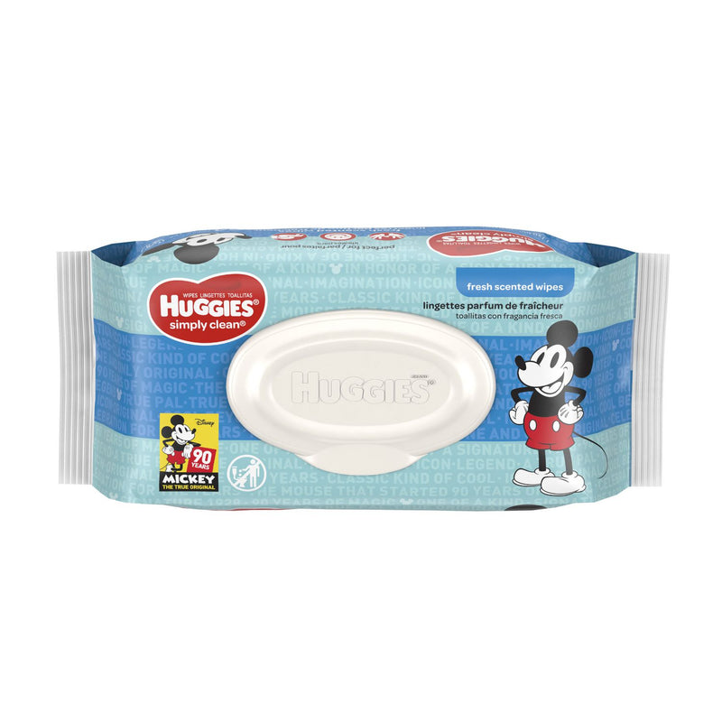 Huggies Simply Clean Baby Wipes, Soft Pack