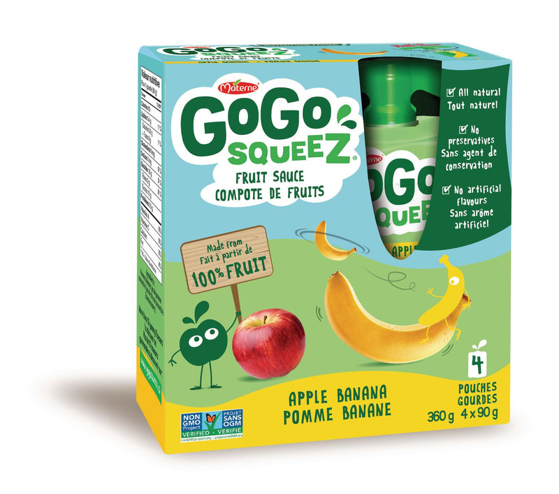 GoGo Squeez Compote Pomme Banane