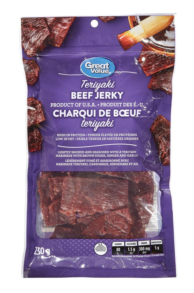 Great Value Beef Jerky