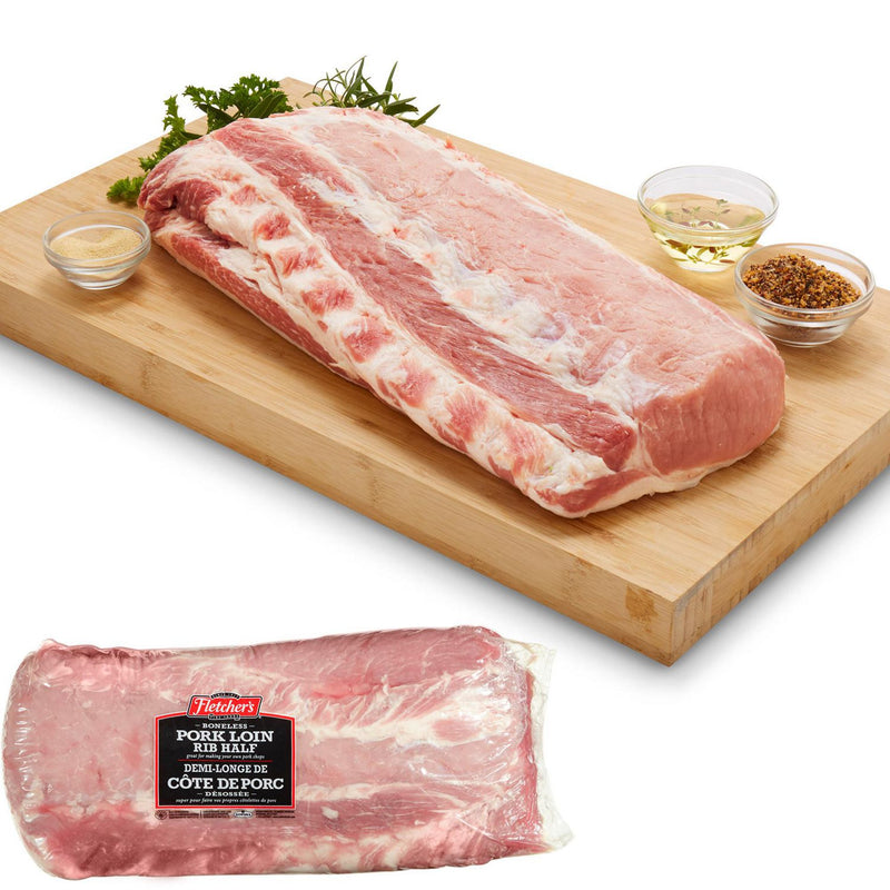 Fletchers Boneless Pork Loin 3Kg