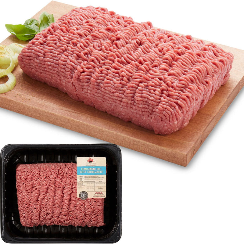 Your Fresh Market Lean Ground Beef 1.20-1.60Kg (9.85$/Kg)