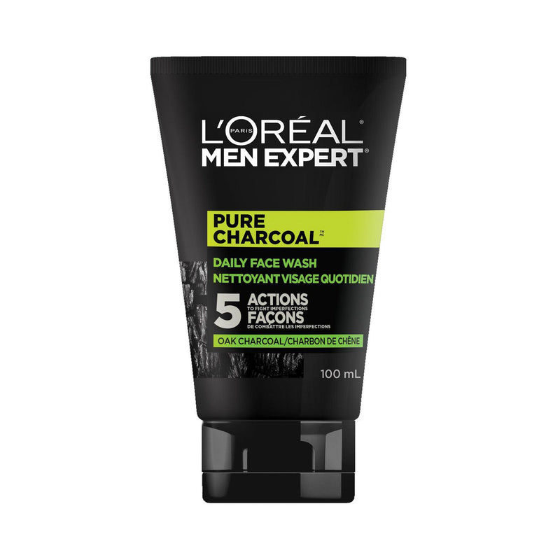Men Expert Face Wash Pure Charcoal