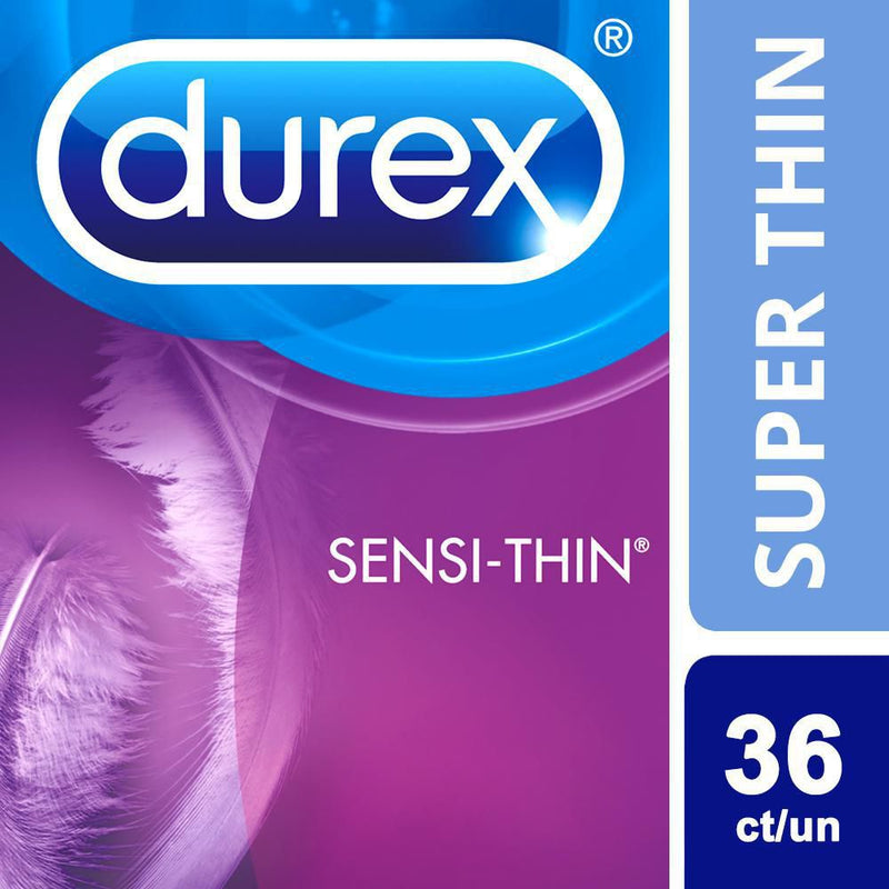 Durex Condoms, Super Thin Lubricated