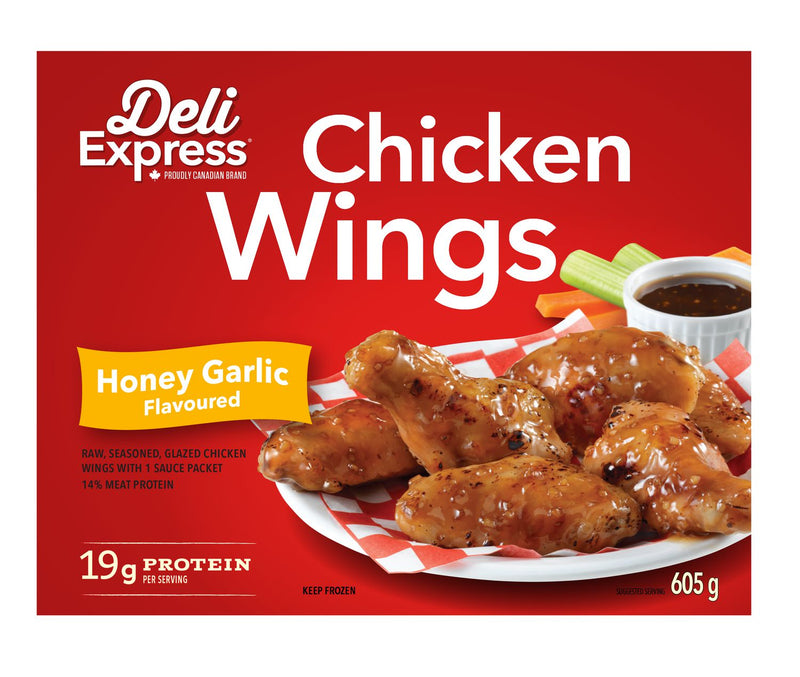 DELI EXPRESS HONEY GARLIC FLAVOURED WINGS