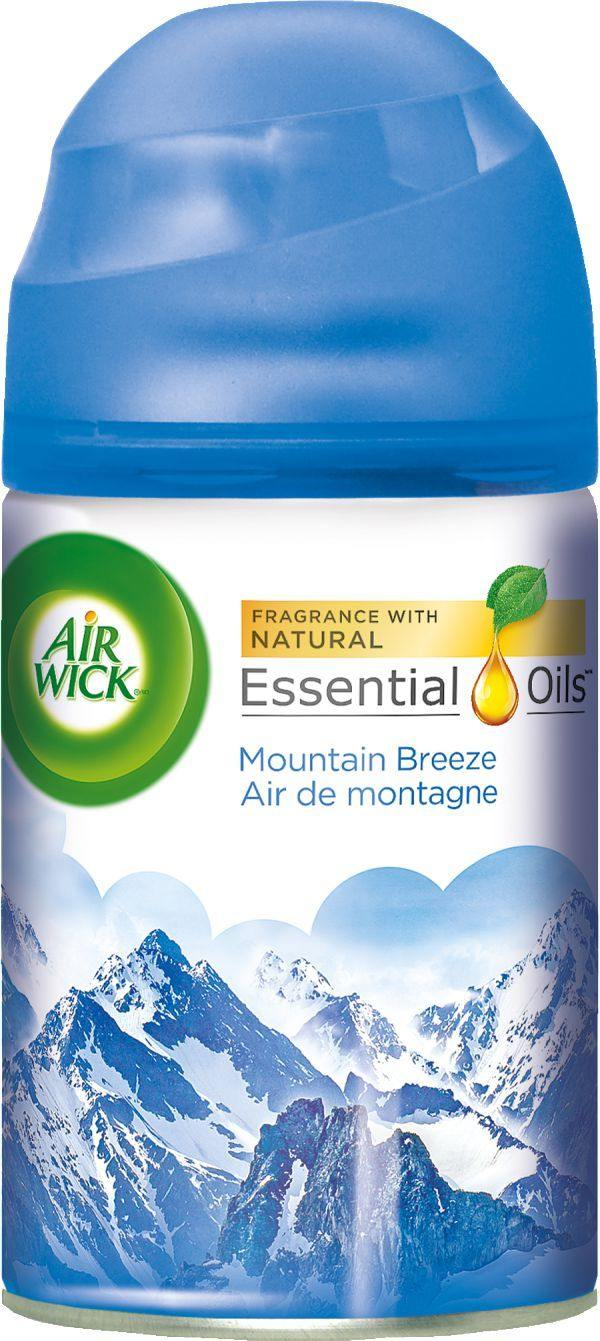 Air Wick Freshmatic Air Freshener, Automatic Spray Refills, Moutain Breeze, 1 Refill