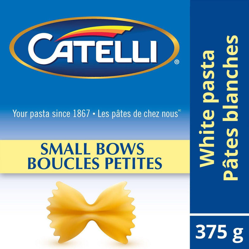 Catelli® Small Bows Pasta, 375 g