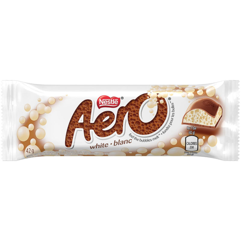 NESTLÉ® AERO® White & Milk Chocolate Bar