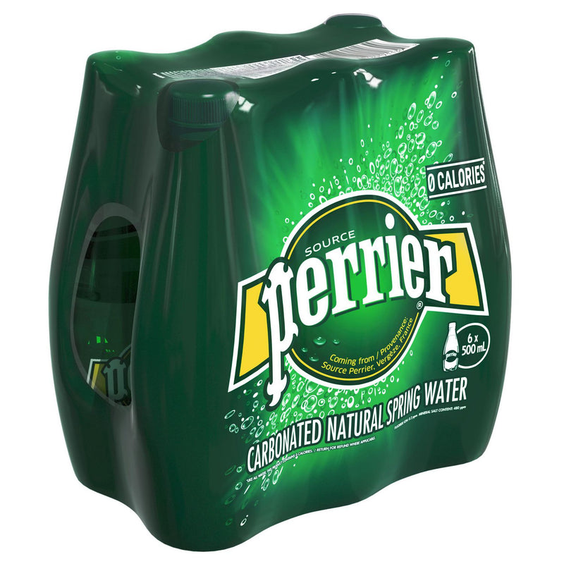 Perrier Carbonated Natural Spring Water Original
