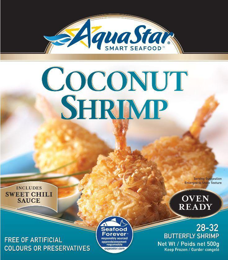 Aqua Star Oven Ready Coconut Shrimp