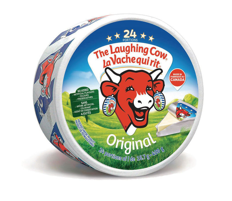 The Laughing Cow Original Spreadable Cheese x24, 400g