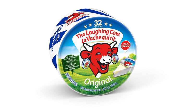 The Laughing Cow Original Spreadable Cheese x32,535g