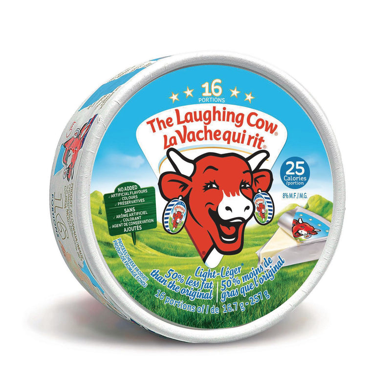 The Laughing Cow Light Spreadable Cheese x16,267g