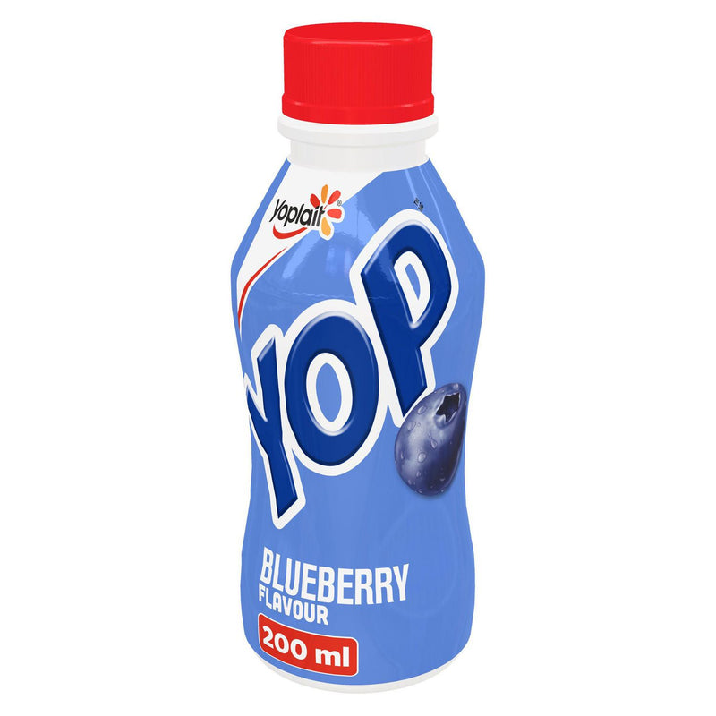Yop by Yoplait Blueberry Flavour Drinkable Yogurt