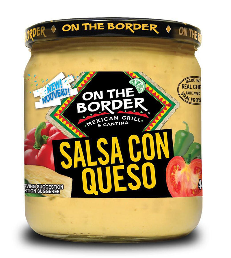On The Border Salsa con Queso Cheese Dip
