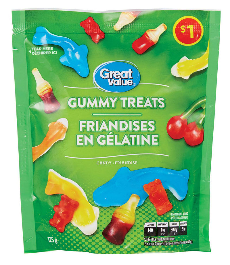Great Value Gummy Treats Candy
