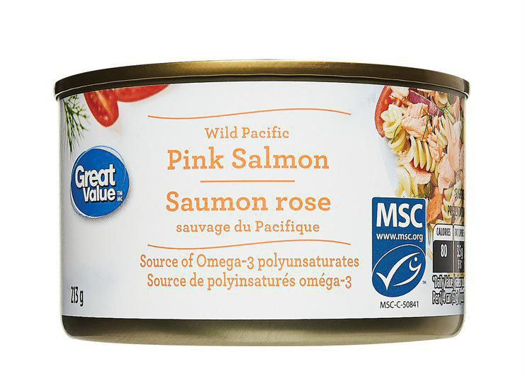 Great Value Wild Pacific Pink Salmon