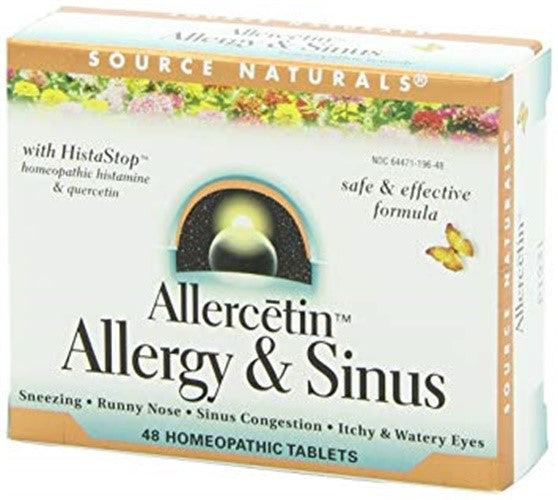Source Naturals Allercetin™ Allergy & Sinus 48 Tablet