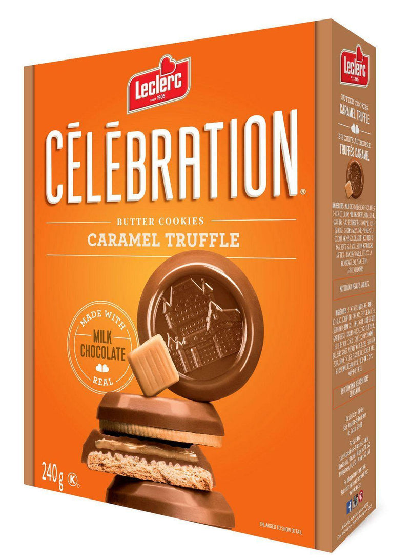 Celebration Milk Chocolate Top Butter Caramel Truffle Cookies