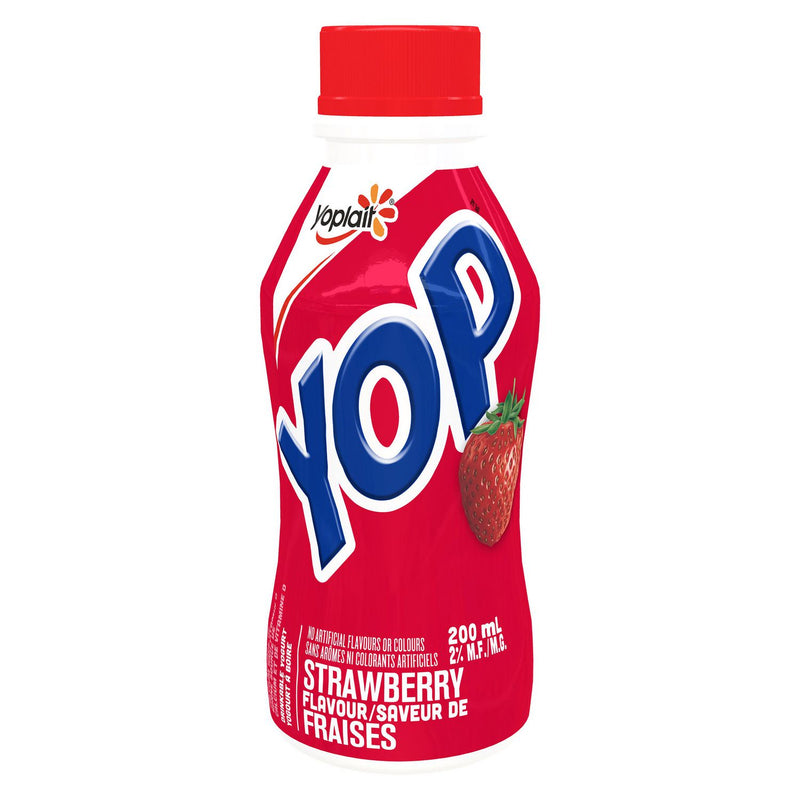 Yop by Yoplait Strawberry Flavour Drinkable Yogurt