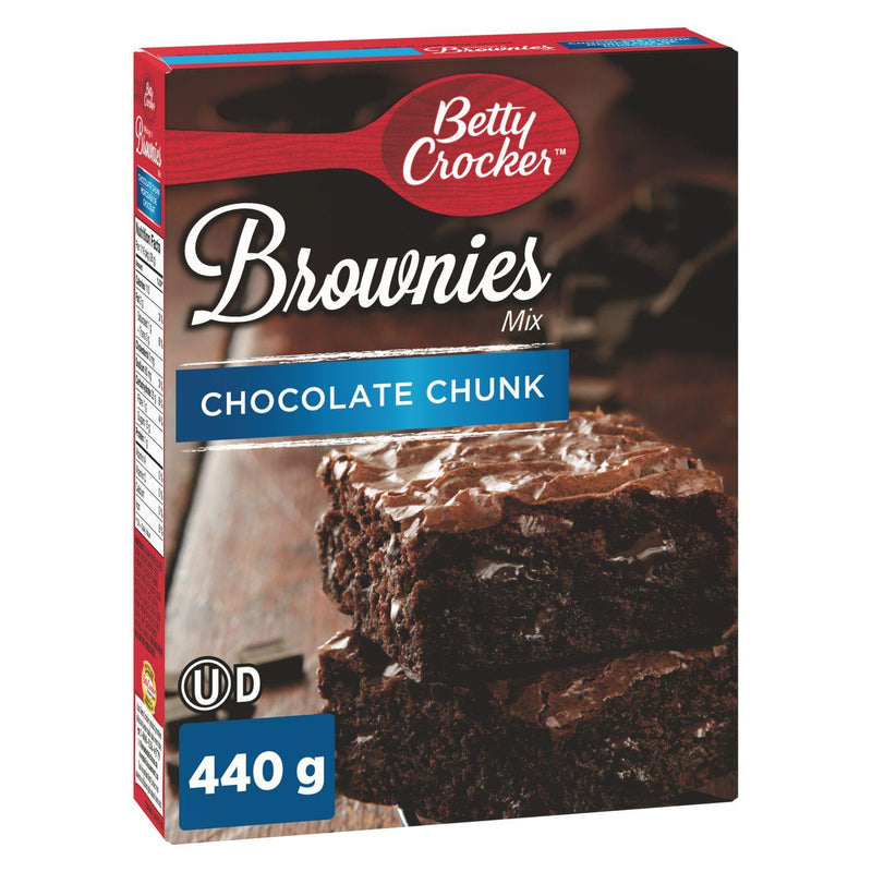 Betty Crocker Chocolate Chunk Brownies Mix