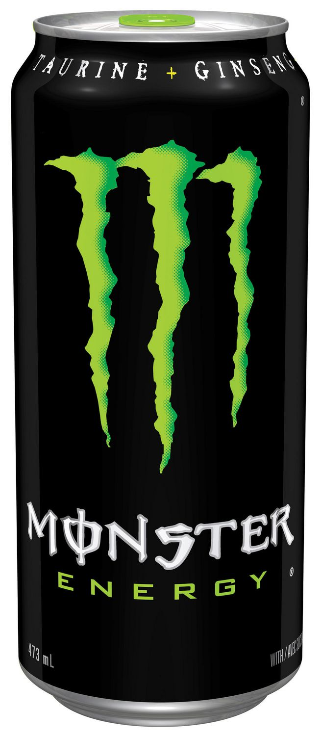 MONSTER ENERGY Green, 473mL, Can