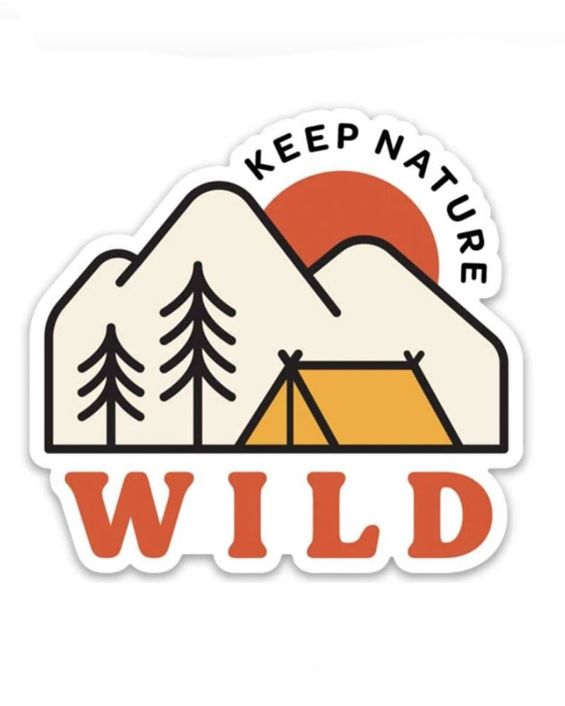 Campsite | Sticker