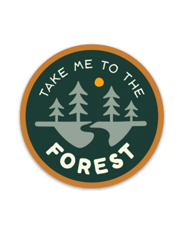 To The Forest | Sticker