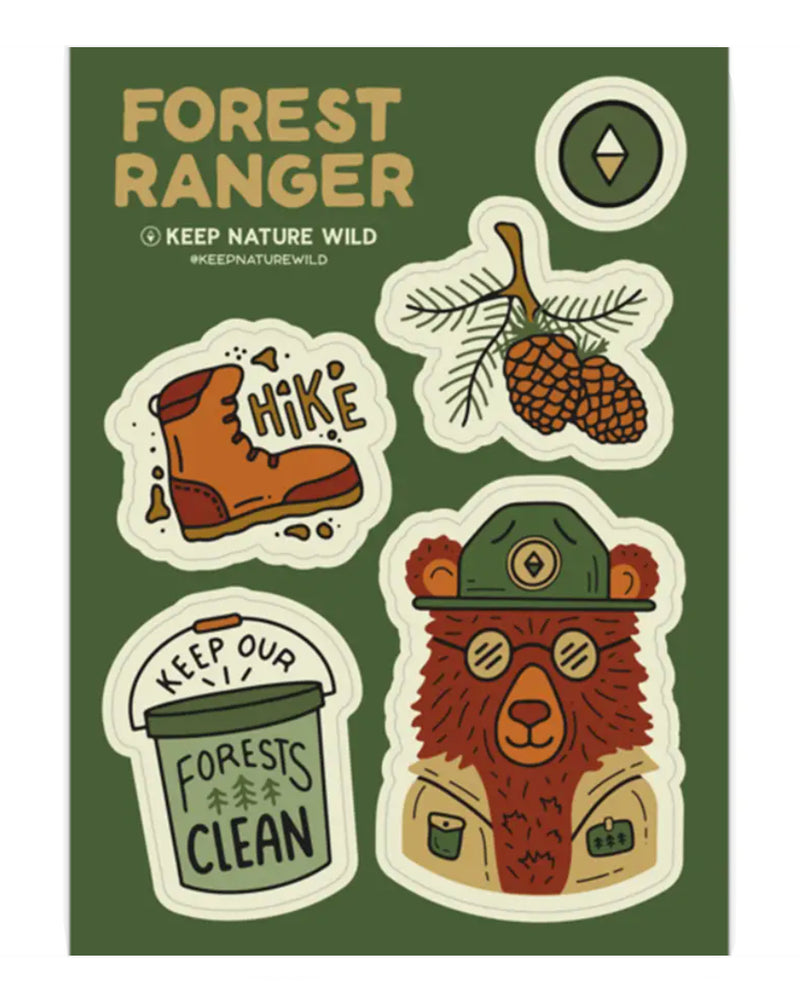 Forest Ranger | Sticker Sheet