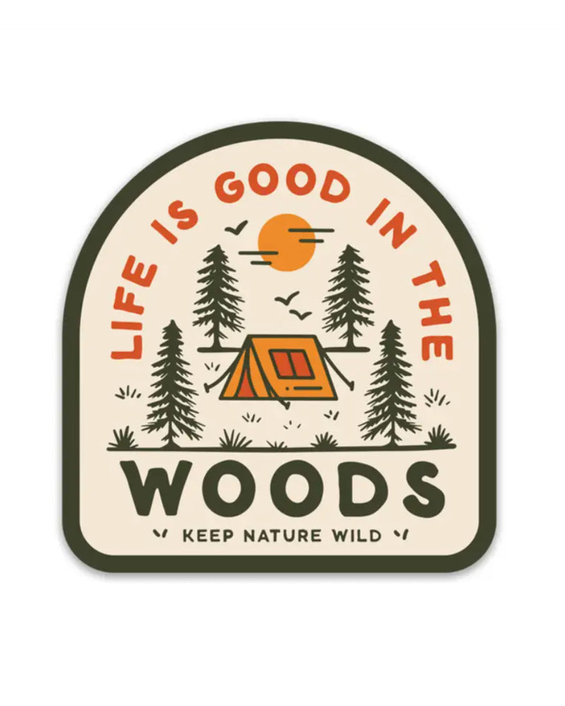 Good In The Woods | Sticker