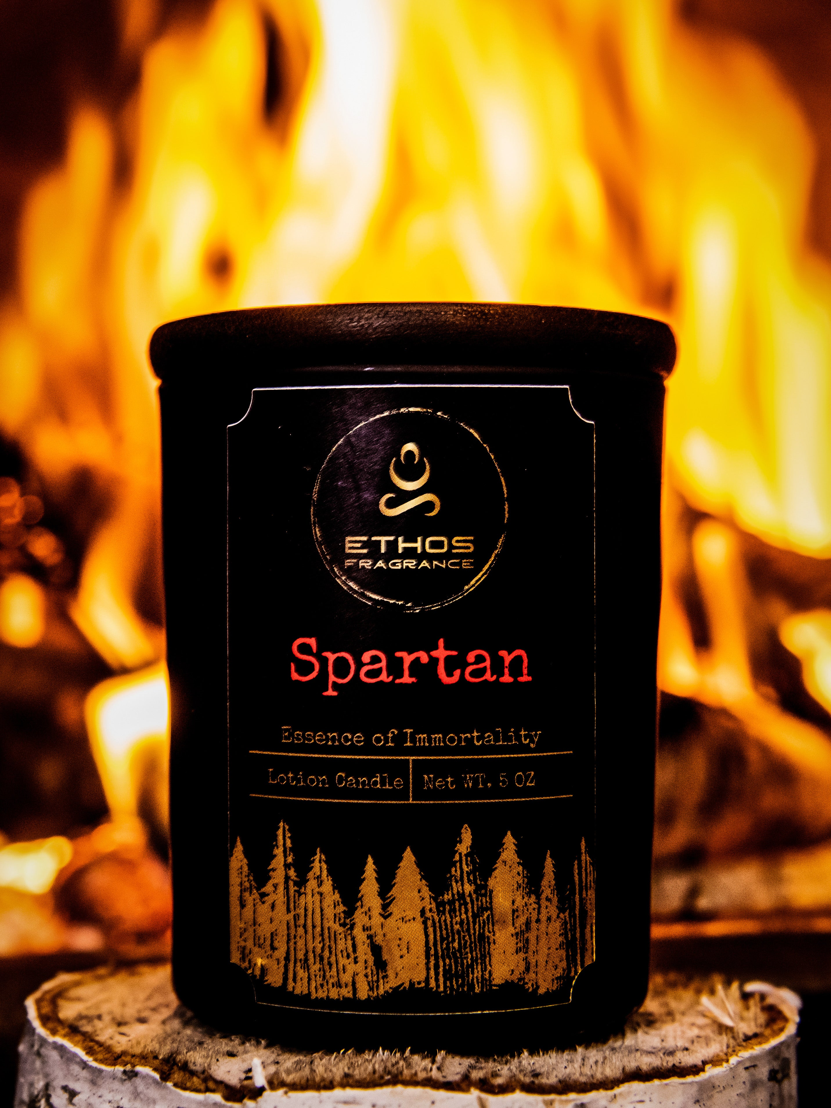 Lotion Candle- SPARTAN