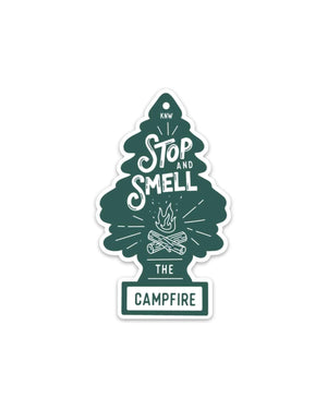 Keep Nature Wild | Campfire Fresh Sticker