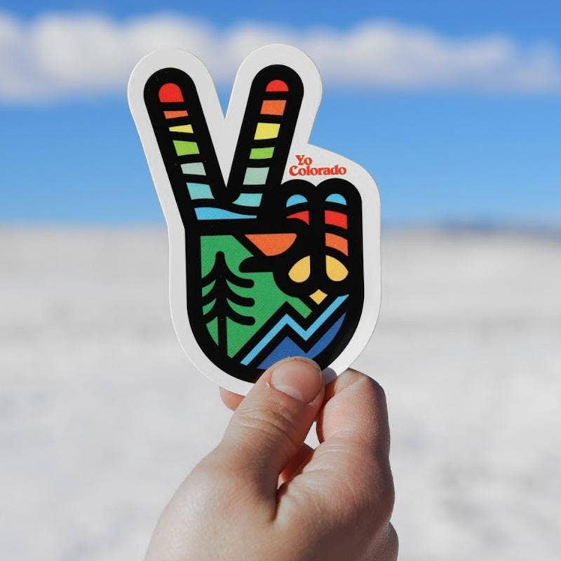 YoColorado | Yo Peace Sticker