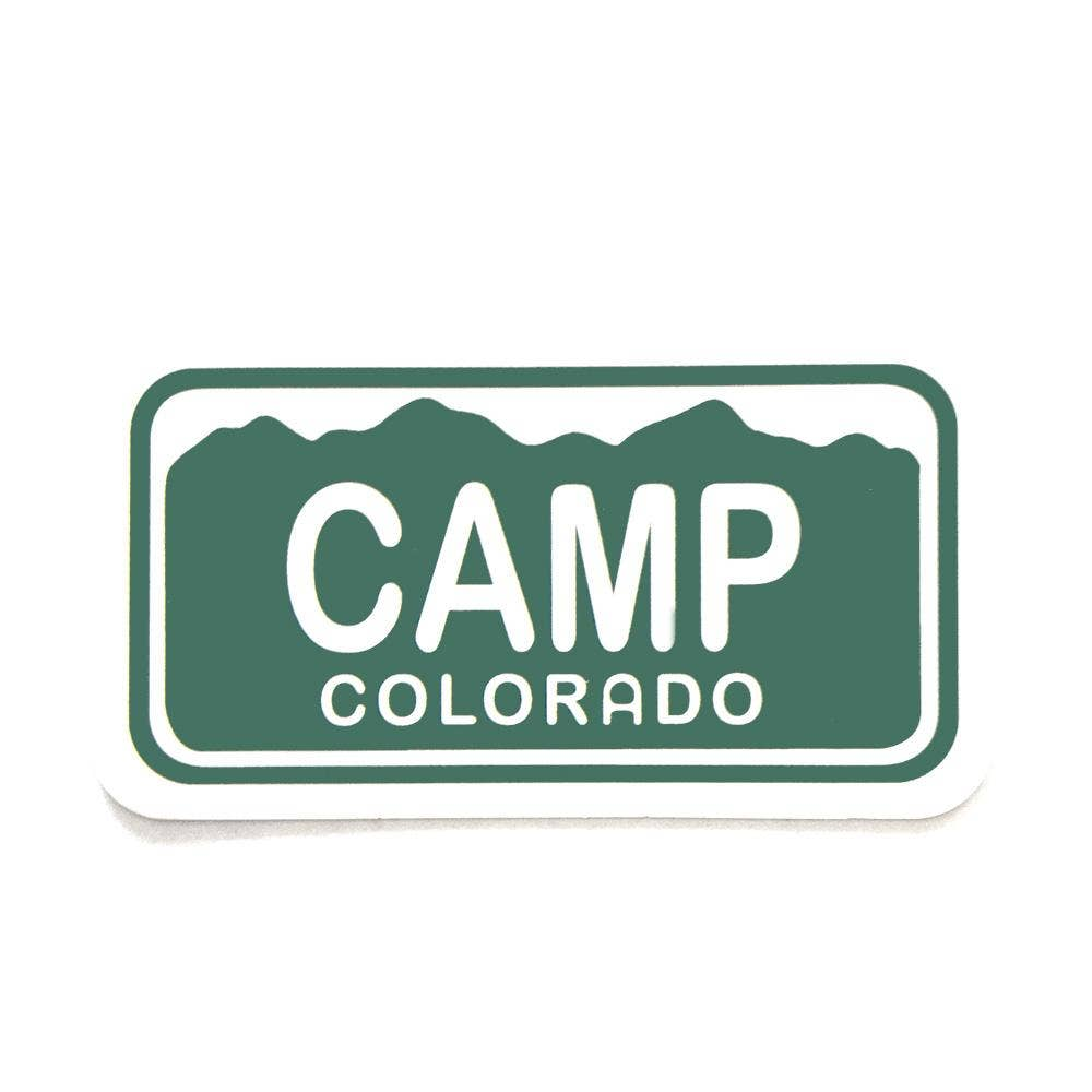 YoColorado | Camp Colorado Sticker