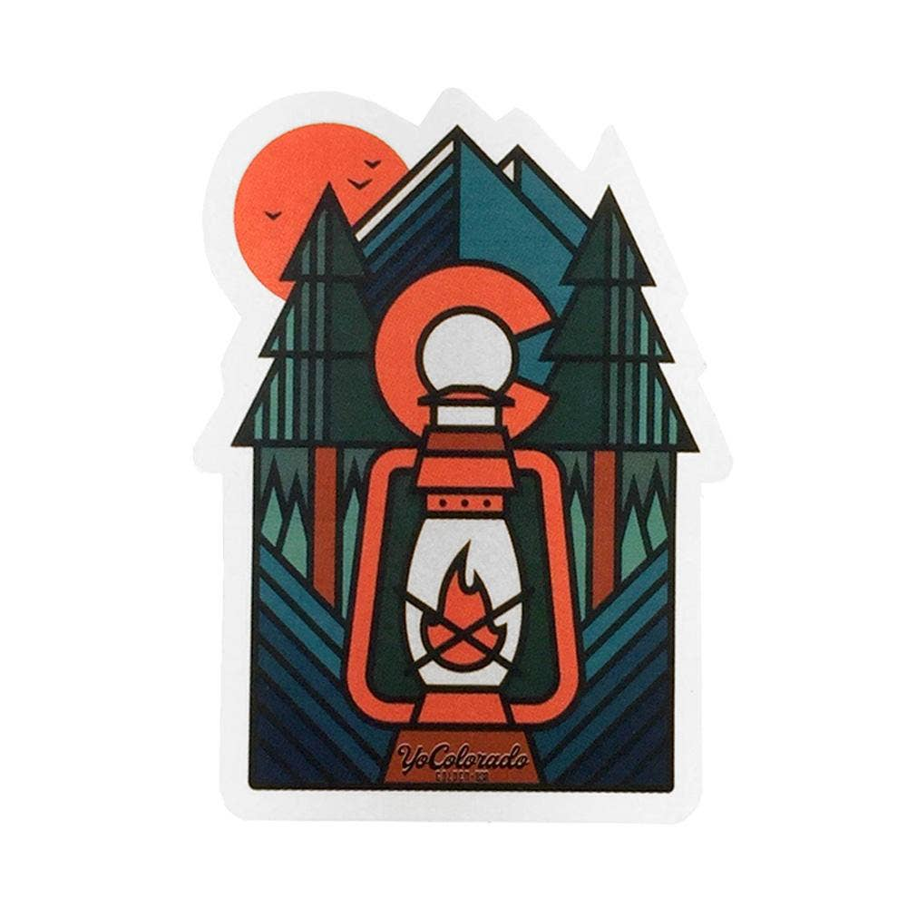 YoColorado | Lantern Sticker