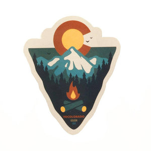 Yo Colorado | Mountain Arrowhead Sticker