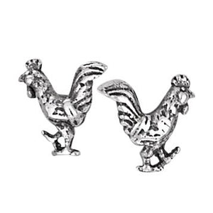Tiger Mountain | Rooster Stud Earring