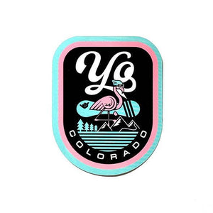YoColorado | Flamingo Sticker