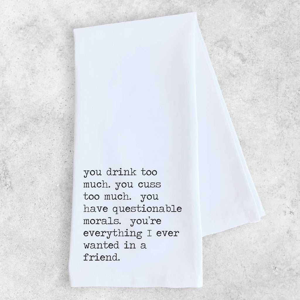 DEV | Friend Tea Towel