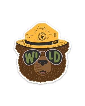Keep Nature Wild | Wildbear Sticker