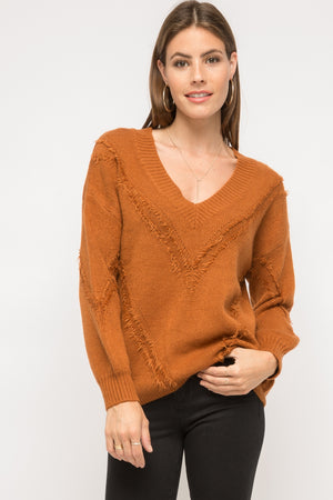 Mystree | Distress Detail Sweater
