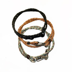 Mesquite | Leather with Carabiner Bracelet