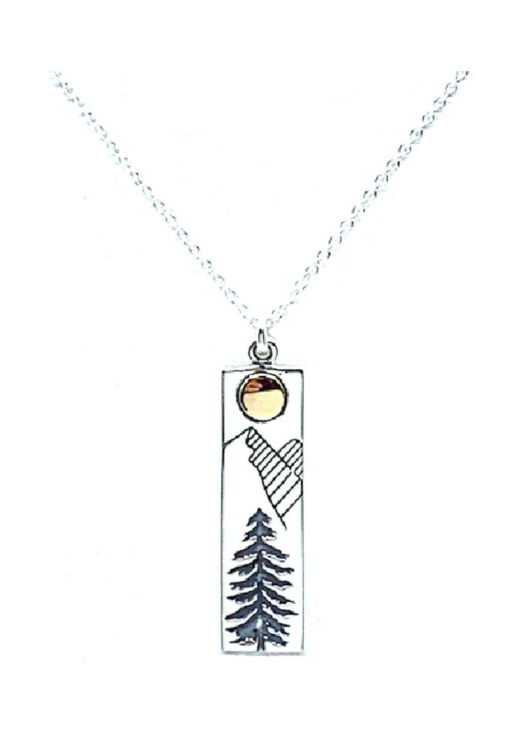 Athena | Mountain Motif Necklace