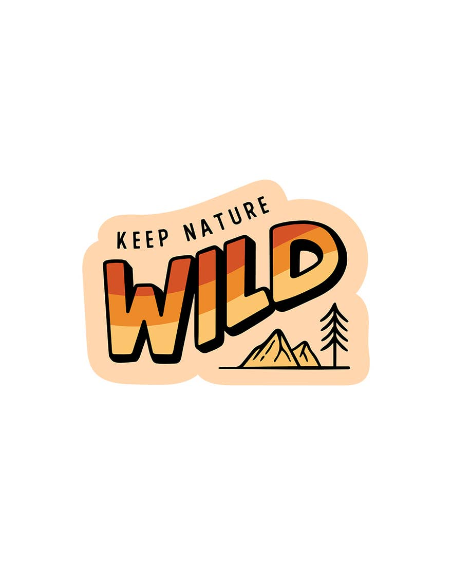 Keep Nature Wild | Wild Horizon Sticker